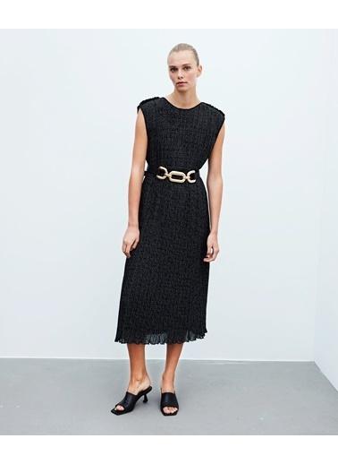 Ipekyol Kadın  Elbise IW6200002302 Siyah